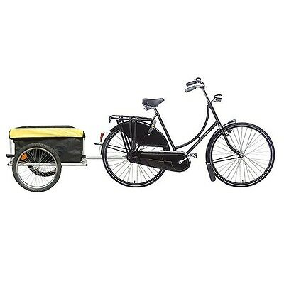NEW Bicycle Bike Cargo Trailer Carrier Cart Garden Tool Luggage