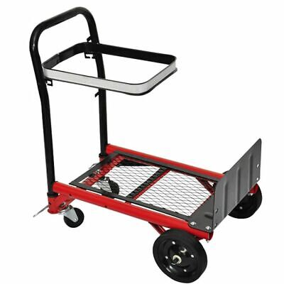 vidaXL Platform Trolley Collapsible Dollies Hand Truck Transport Carrier Cart