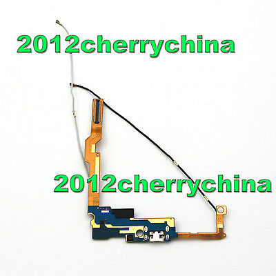 USB Charger Port + phone Signal Antenna Flex Cable For LG Gx2 4G LTE F430