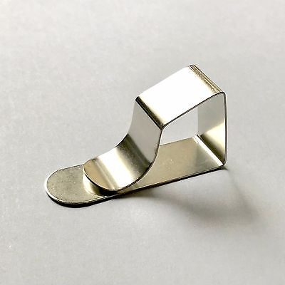 Table Top Cloth Clips Picnic Sprung Carbon Steel Made In UK Buy 8 -12-20 or 40