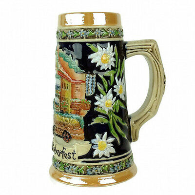 Munchen Oktoberfest Beer Stein without metal lid