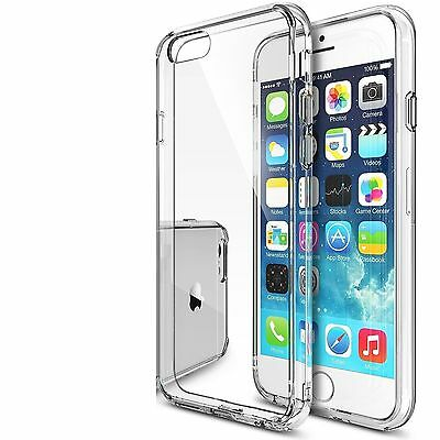 Clear Silicone Gel Case & Screen Guard For iPod Touch 6 6G 6th Generation Gen