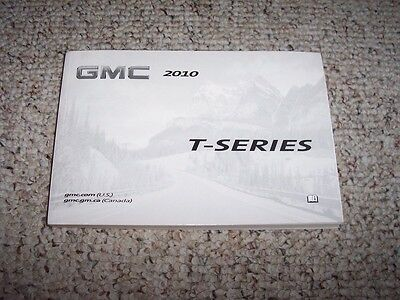 2010 GMC T-Series T5500 T6500 T7500 T8500 Truck Owner's Owners User Manual Book