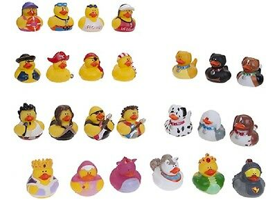 Cute Rubber Duck Set of 2 Bath Time Toy For Bath Time Fun Assorted Designs !!