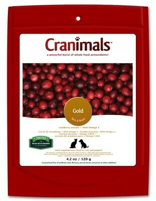 Cranimals Gold for Cats & Puppies 120g DHA Omega 3