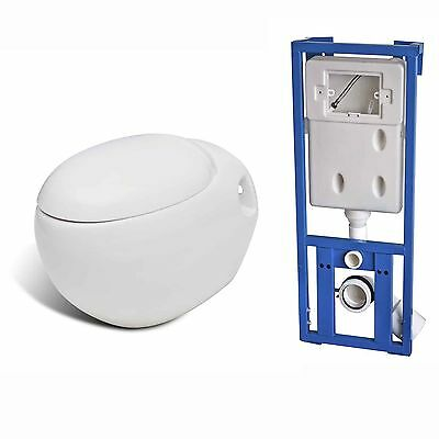 New Wall Hung Toilet Wc Toilet & Soft Close Toilet Seat Ceramic With Flush Tank