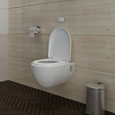 New Wall Hung Toilet Wc Toilet & Soft Close Toilet Seat Ceramic