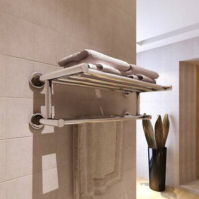 New Stainless Steel Towel Rack Towel Rails 6 Tubes High-quality Wall Mounted
