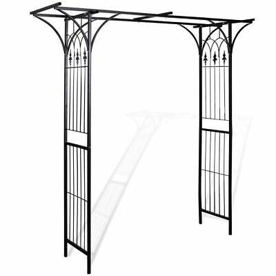 New Garden Arch 200 cm High Weather Resistant garden gate arbor trellis