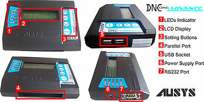 USB reader for HAAS CNC machines,  - Add USB port & Memory for all CNC DNC