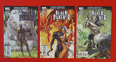 Black Panther Dark Reign lot of 3 (4-6) Marvel NM