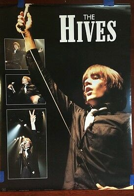 "NEW The Hives Music Poster 34 x 24"" Color"