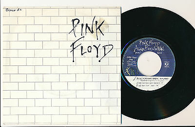 """Pink Floyd 45 Tours 7"""" Hollande Another Brick In The Wall"""
