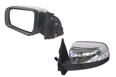 Ford Ranger Px 2011-2018  Door Mirror Chrome Electric With Flasher- Lh Side