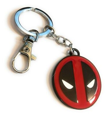 Deadpool Comic Collectible Keychain Key chain cosplay or just wear collect:)