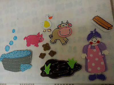 Felt Board/flannel Story Rhyme Teacher Resource - Mrs Wishy Washy
