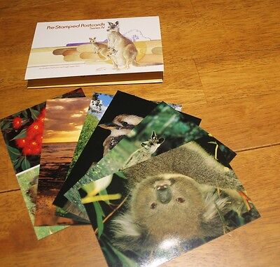 Australia Post Postcard Pack Number 4 Series Iv With 6 Postcards In Pack !