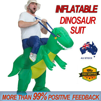 Dinosaur Fancy Dress Inflatable Suit - Fan Operated Costume AU