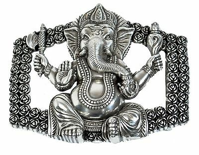 Clasp Buckle Belt Buckle Metal Ganesha Interchangeable clasp for 4 cm belt