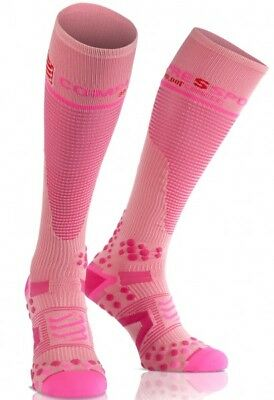 Compressport Full Sock V2.1 pink. Neu!