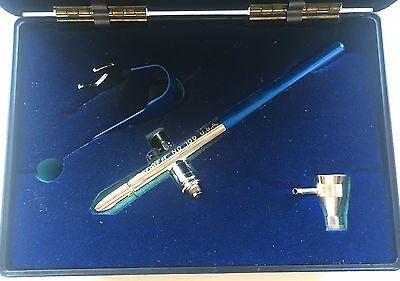 Badger BA1001 AirBrush Model 100-F with Side Feed Cup NIB