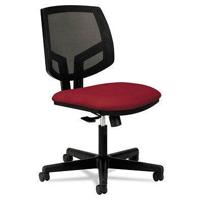 Volt Series Mesh Back Task Chair, Crimson Fabric