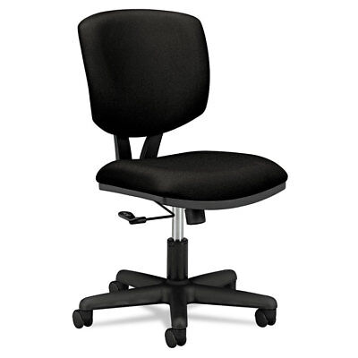 Volt Series Task Chair, Black Fabric