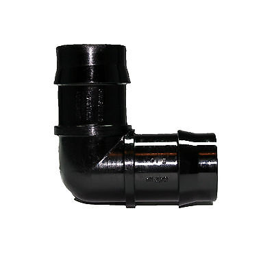 25mm Elbow Pipe Fittings Water Pond Hydroponics Pond Fountain Irrigation Barbed