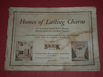 VTG 1927 Ralph Stoddard 120 Brick Homes Of Lasting Charm Terraces Landscaping