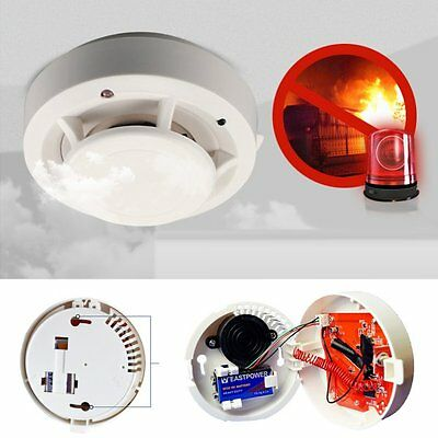 New Wireless Smoke Detectors 85dB/m Fire Sensor System For Home Alarm Security