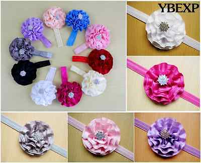 Wholesale 10pcs Hot CuteToddler Girl Princess Hair Bow Band Accessories
