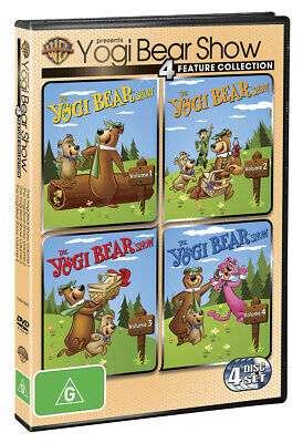 The Yogi Bear Show: Complete Collection Volume 1, 2, 3 & 4 (1961) DVD R4
