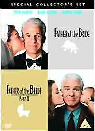 Father Of The Bride 1 + 2 Dvd Collection Part 1 2 All Movie Film Steve Martin Uk