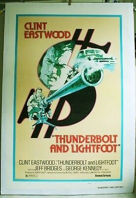 'thunderbolt And Lightfoot' ** Price Reduced 10%*** Eastwood ~ Bridges**