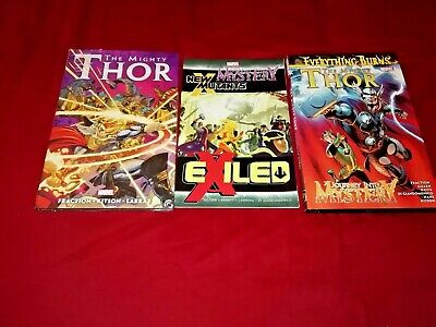 Thor Vol 1  2  3  Reborn 52 & The World Eaters  615 - 621 Graphic Novel New/nm