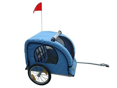 New Bicycle Trailer Bike Stroller Jogger Double Kids Baby Child Seat Buggy