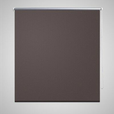 New Quality Roller Blind Blackout Thermal Easy Installation 40 x 100 cm Coffee