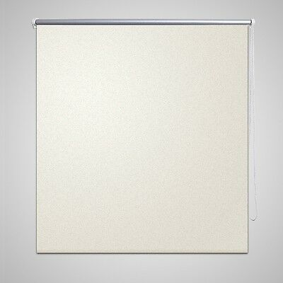 New Roller Blind Blackout Thermal Easy Installation 40 x 100 cm Off White