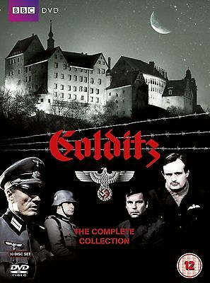 COLDITZ COMPLETE SERIES 1 - 2 DVD BOX SET COLLECTION + Booklet + ArtCards New UK