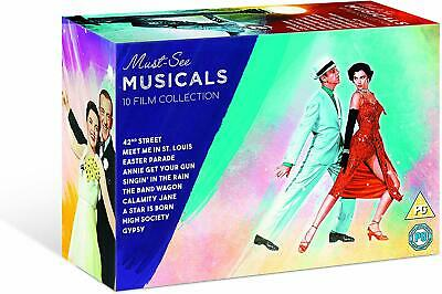 15 Hollywood Must See Musicals DVD Box Set All Time Classic Movie Film New UK R2