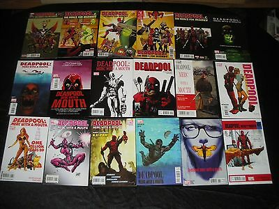 Deadpool Merc With A Mouth 1 -13 2 3 4 5 6 7 8 9 10 11 12 Mercs For Money 1 - 5