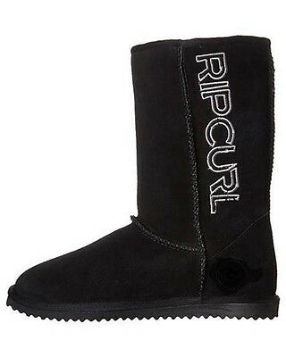 Rip Curl SHIPSTERNS Mens UGGIES BOOT Winter Shoes Slippers - Black