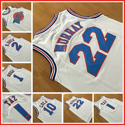 Space Jam Jersey Basketball Bill Murray Michael Jordan 23 Bugs Bunny TAZ Lola