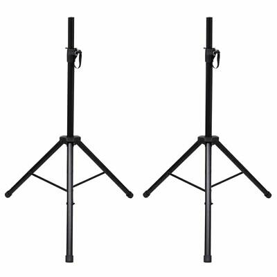 New Classic Height Adjustable Speaker Stand Support Portable with Tripod 2 pcs