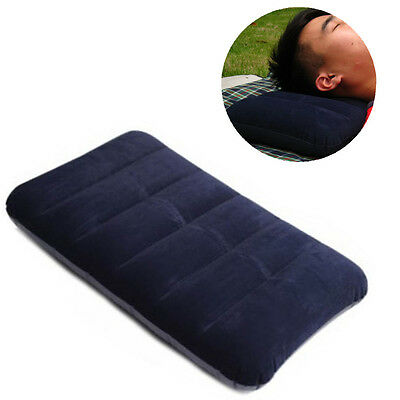 Upscale Two-Sided Camping Air Inflatable Pillow Backpacking Travel Head Cushion