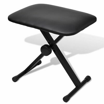 New High Quality X-Frame Keyboard Piano Drum Stool Seat Bench Adjustable Folding