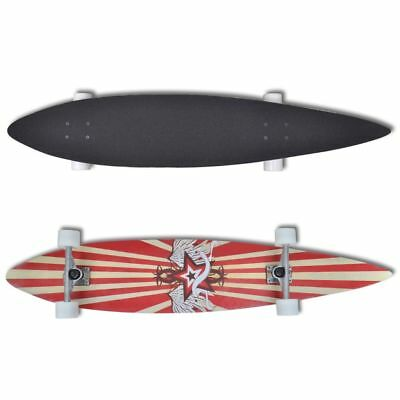 New Professional Complete Longboard Skateboard Pintail Skating Outdoor Sports