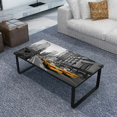 New Square Coffee Table Side Table Sofa Table Glass Surface Livingroom Furniture