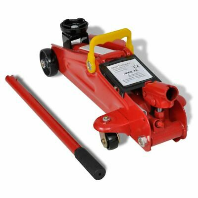New Floor Jack Hydraulic Trolley Jack 2 Ton Red Heavy Duty Car Van Vehicle