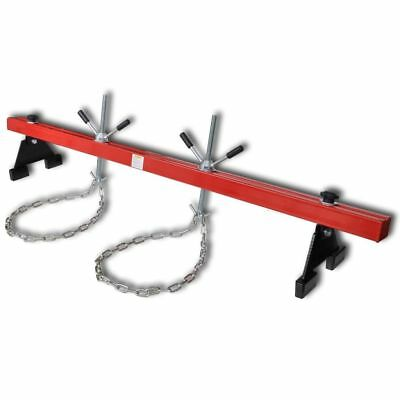New Dual Hook Engine Support 500 kg Red with Chains Lift Holder Hoist